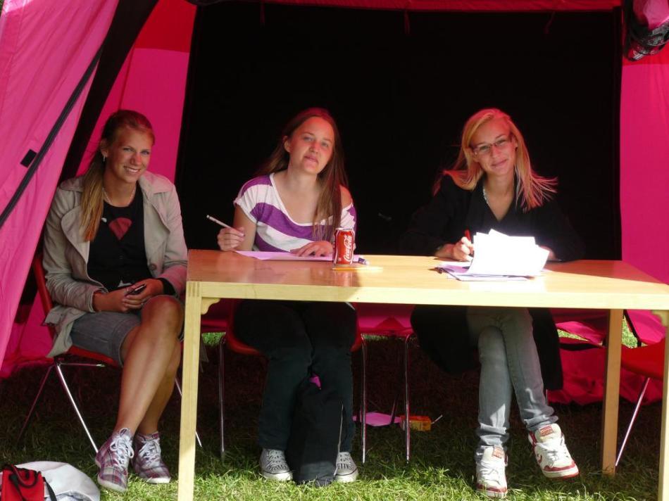 Domarbordet - Mimmi, Janna och Agnes