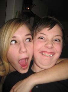Agnes och Max. Julen 2008